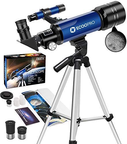 professionnel comparateur Télescope pour enfants Débutant Astronomie Adulte Jeunesse Télescope portable 70 mm… choix