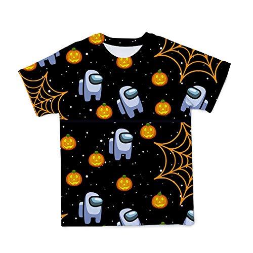 Valley Kinder und Erwachsene Unisex Gaming T-Shirts Among us 4-19Jahre T-Shirts Lustige Crewmate