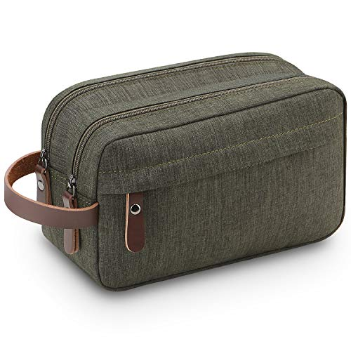 Shaving Bag,Lanivas Luggage Toiletry Travel Bag Value Gift for Travelers Army Green