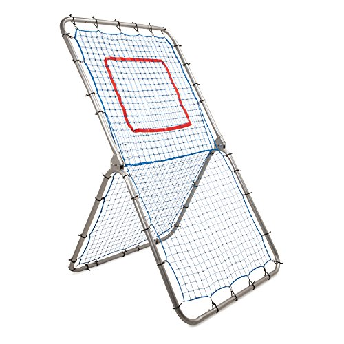 Champion Sports BN4272 Rebound Pitchback Net, Adjustable Training Practice Rebounder Bounceback Screen
