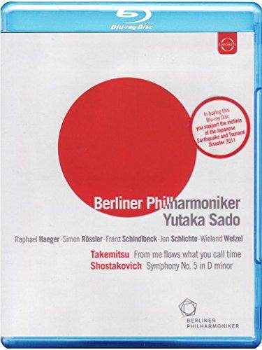 Toru Takemitsu - From me flows what you call time / Dmitrij Shostakovic - Symphony no. 5 in D minor(+booklet)