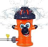 BESTZY Sprinkler für Kinder, Wassersprinkler Garten Kinder Wasserspielzeug für Gartenschlauch...