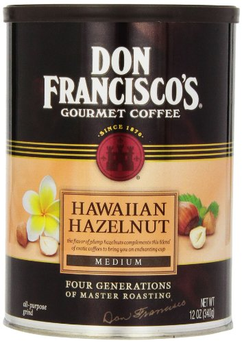Don Francisco Hawaiian Hazelnut Coffee, 12 oz