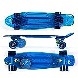 Maxofit  retro skateboard mini cruiser  Amazona, 55 cm avec roulements à billes ABEC...