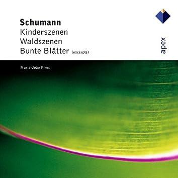 Schumann : Kinderszenen, Waldszenen & Bunte Blätter