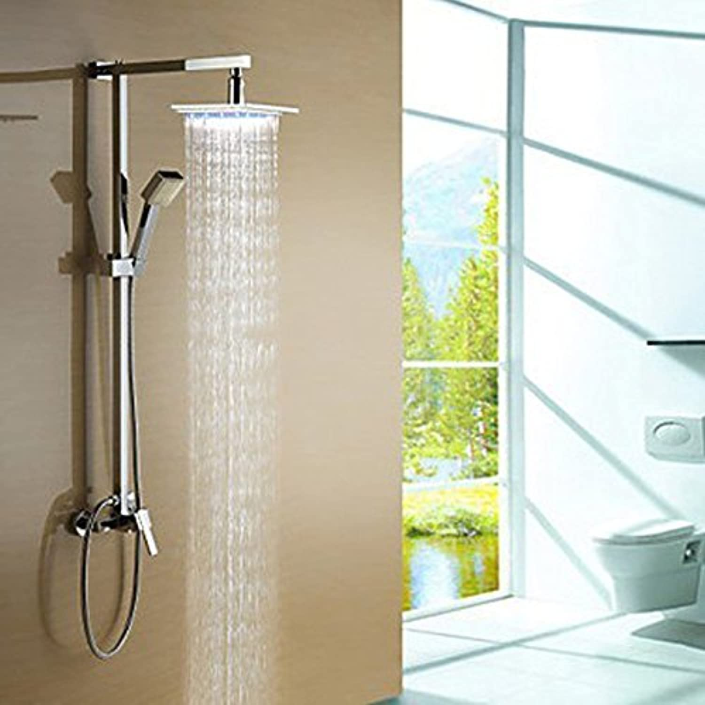 ZXY-Shower warm glow discoloration bath suit full shower shower suit