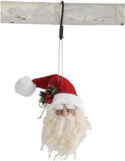 Vintage Style Santa Head Ornament