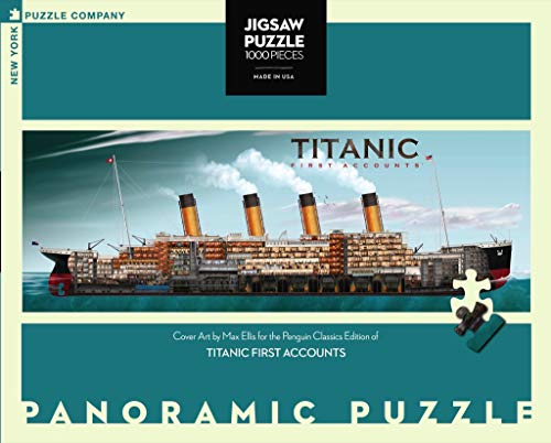 Titanic First Accounts - NYPC Penguin Random House colección Puzzle 1000 Piezas