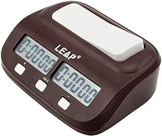 デジタル対局時計 チェスクロック 将棋/囲碁/チェスに試合適用 ダウンタイマーとウントアップタイマーに使用できる [日本語と英語表示の使用説明] プロゲーム競技に適用 アラーム機能付
