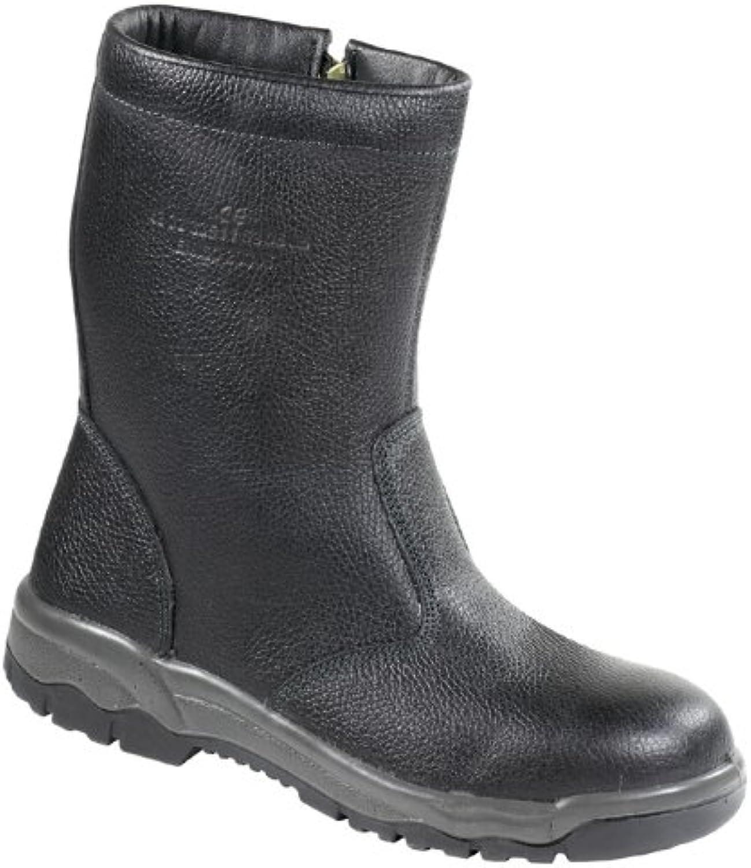 SCHNEEBERG High Boots EN 345 S3 Faux Fur EU Size 38 40.0 black