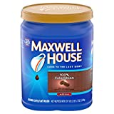 Maxwell House Medium Roast 100% Colombian Ground Coffee, 37.7 oz Canister