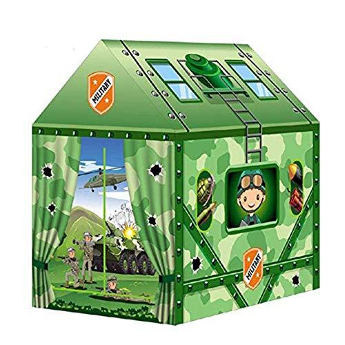 None/Brand Tienda de campaña para Juegos para niños para 2-3 niños y niñas, Juguetes de Interior al Aire Libre, Juego portátil Plegable, Piscina de Bolas de Tipi 69x93x103CM