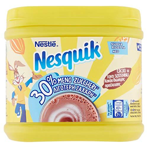 Nesquik 30% Meno Zuccheri Cacao Solubile per Latte, 350g
