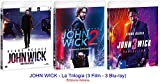 JOHN WICK - La Trilogia (3 Film - 3 Blu-ray) Ed. italiana