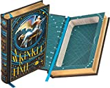 Handmade Book Safe - A Wrinkle in Time Trilogy by Madeleine L'Engle (Leather-bound) (Magnetic Closure)