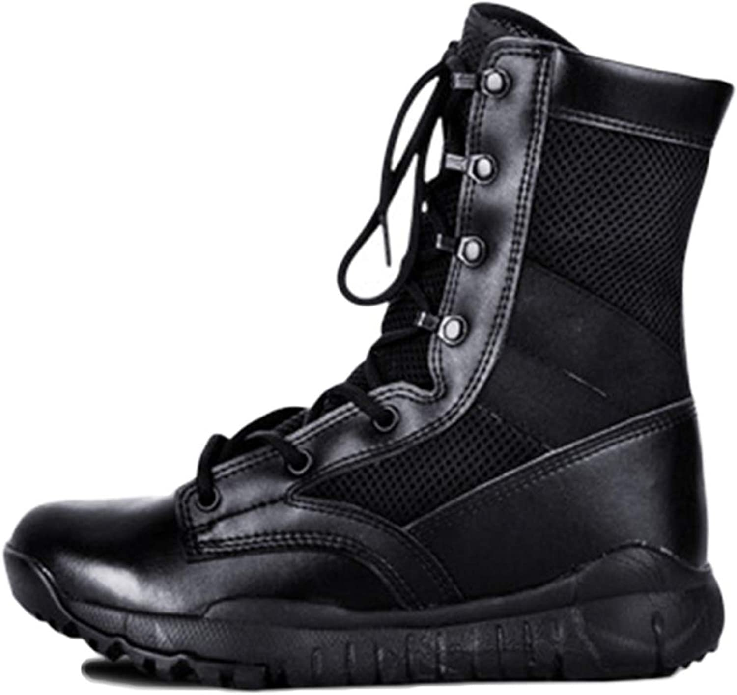 Men's Boots Tactical Boots Mountaineering Breathable Lightweight High Boots