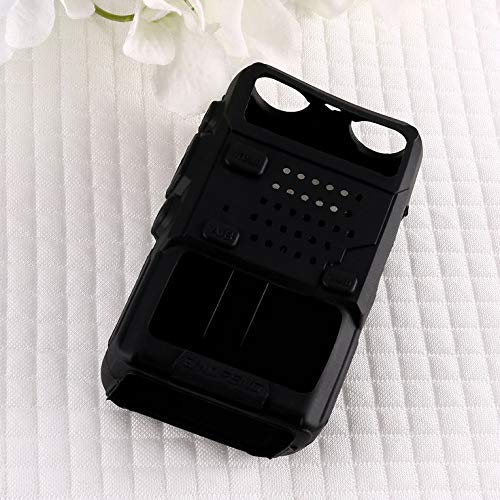 ouying1418 Silicone Rubber Cover Walkie Talkie Protection Cover Shell for BAOFENG UV-5R: Amazon.es: Hogar