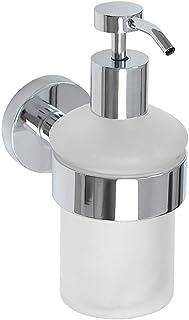 ZPEE Soap Dispenser Chrome-Plated Copper Hand Soap Dispenser Wall Hanging Hotel Shampoo Shower Gel Hand Soap Bottle Holder...