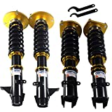 JDMSPEED New Gold Coilovers Strut Suspension Kit Replacement For Dodge Neon SRT-4 2.4L 2003-2005