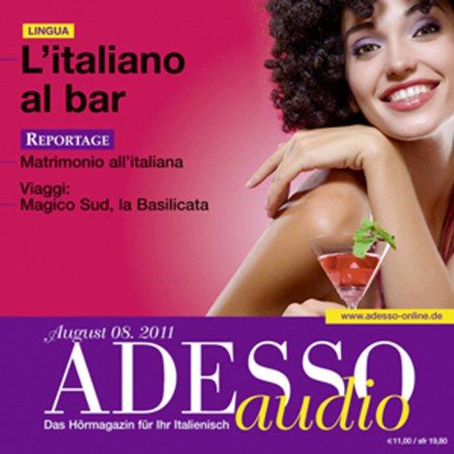ADESSO Audio - L'italiano al bar. 8/2011 Titelbild