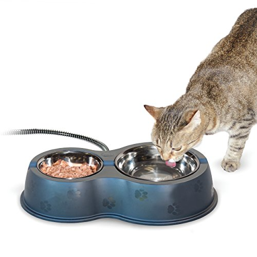 K&H Manufacturing Thermo-Kitty Cafe Heated Food & Water Bowl
