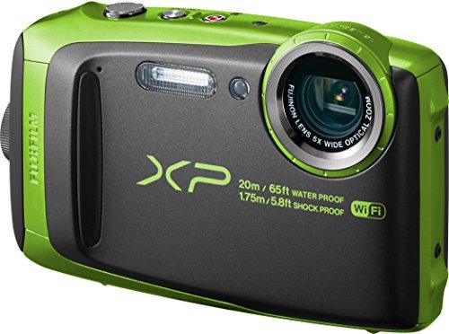 FUJIFILM デジタルカメラ XP120 ライム