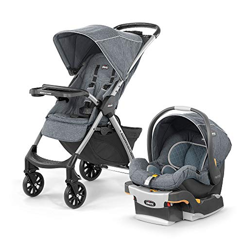 Chicco Carriola Mini Bravo Plus Travel System Bombay, Color Gris