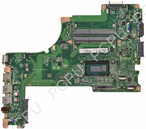 TOSHIBA A000301390 Toshiba Satellite L55T-B Laptop Motherboard w/ Intel i3-4025U 1. Details about TOSHIBA SATELLITE L55T-B5271 MOTHERBOARD A000301390