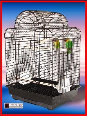 KASBAH Jaula de pájaros Budgie Canario...