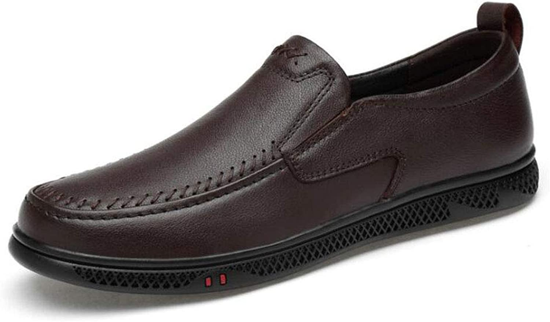 Hy Mens Casual schuhe, 2019 Frühjahr Frühjahr Frühjahr Neue Formal-Business-Schuhe, Hollow-Out, Mens Comfort Breathable Driving schuhe, Loafers & Slip-Ons,braun,43  343d8a