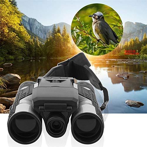 1080p Cámara Digital 2.0 LCD 12x32 HD Negro Binoculares Telescopio Plegable con cámara Digital incorporada Nuevo Full...
