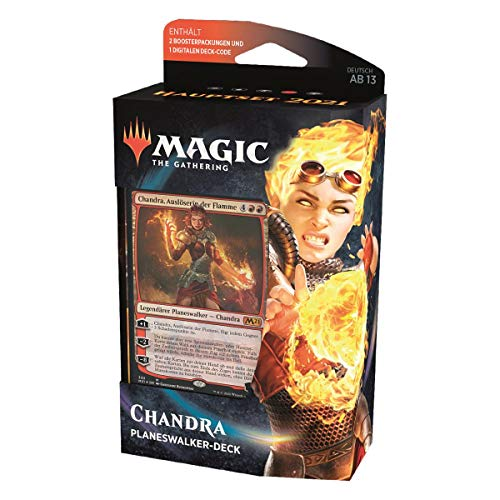 MTG Hauptset 2021 Planeswalker Deck Deutsch, Chandra, Katalysatorin der Flammen, Magic: The Gathering