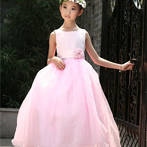 QTONGZHUANG - Golf-Kleider für Mädchen in Rosa, Größe 130cm