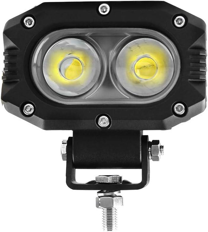 BraveWAY LED Pod Lights Max 63% OFF 4 inch Driving Beam Flood 1pc Fog Discount mail order