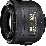 Nikon 35mm f/1.8G AF-S DX Lens for Nikon DSLR Cameras (Renewed)