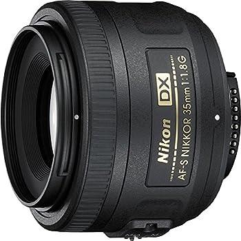 Nikon 35mm f/1.8G AF-S DX Lens for Nikon DSLR Cameras  Renewed