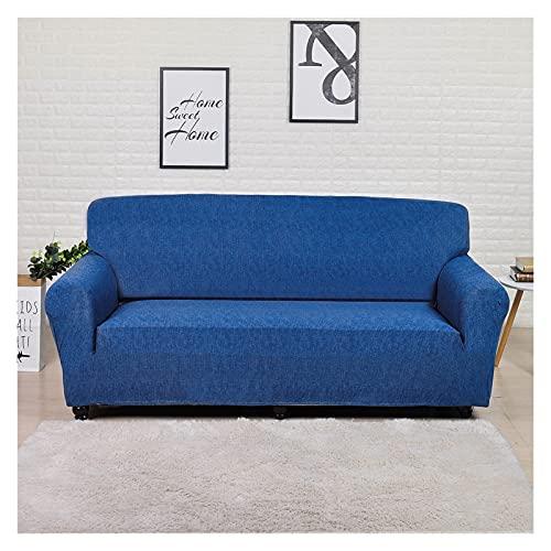 SYOUCC Cubre Sofa Cubierta de sofá Impreso Funda de sofá del Sistema 1/2/3/4 Sofá de Asiento Tapa de sofá Protector de Muebles extraíbles (Color : 27, Size : 2 Seat 145-185CM)