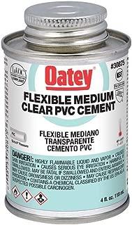 Oatey 30875 Hydraulic Cements, 4 oz, Clear