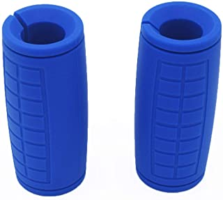 yuhqc Dumbbell Grips, Fat Grips, Barbell Grips Thick Bar Adapter Muscle Builder Weightlifting Fat Grips