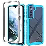 SULIAN Samsung Galaxy A22 Case, Soft TPU Bumper Transparent
