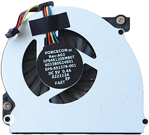 3CTOP Ventilador de CPU para 2560 2560P 2570 2570P