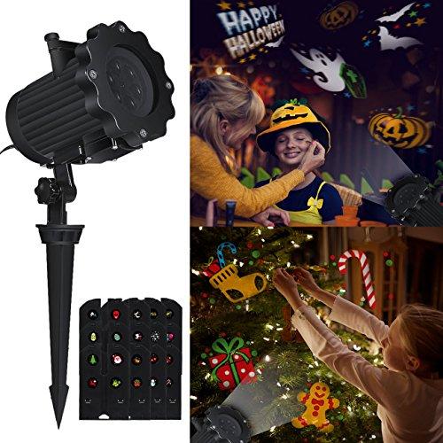 LED Lampada di proiezione Natale Videoproiettore, airlab luci di Natale per feste, Party, interno & esterno illuminazione giardino