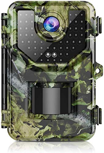 1520P 20MP Trail Camera, Hunting Camera with 120°Wide-Angle Motion Latest Sensor View 0.2s Trigger Time Trail Game Camera with 940nm No Glow and IP66...