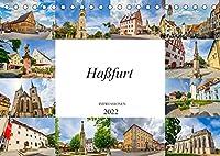 Hassfurt Impressionen (Tischkalender 2022 DIN A5 quer): Einmalig wunderschoene Bilder der Stadt Hassfurt (Monatskalender, 14 Seiten )