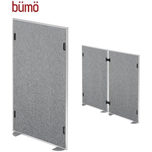 Bümö® geluidsisolatiewand, 1 element, geluidsbescherming, scheidingswand, scheidingswand, scheidingswand, voor kantoor, praktijk & Co. | Akoestische geluidsbeschermingsklasse C