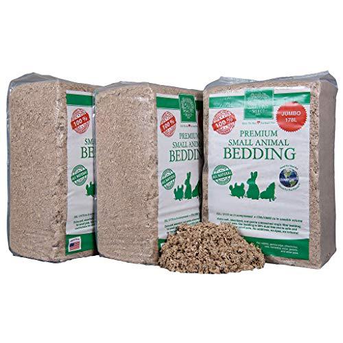 Small Pet Select Jumbo Natural Paper Bedding, 178 L (3-Pack), Model Number: BDING-178L-3