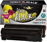 Yellow Yeti CF283A 83A (1500 páginas) 2X Tóner Compatible para HP Laserjet Pro M201dw M201n MFP M125nw M127fn M127fw M225dn M225dw M125a M127fp [3 años de garantía]