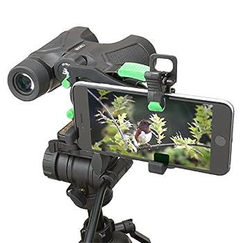 Carson HookUpz 2.0 Universal Smartphone Optics Digiscoping Adapter for Binoculars Spotting Scopes Telescopes Microscopes Monoculars and More  IS-200