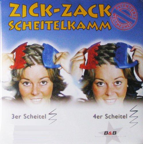 Zick Zack Kamm Scheitelkamm