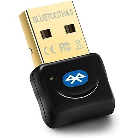 Maxesla Adattatore Bluetooth USB Bluetooth 4.0, Chiavetta Bluetooth per PC Plug And Play, 20M Trasmettitore e Ricevitore per Cuffie, Altoparlanti, Tastiera ect, Compatibile con Windows 10/8/7/XP/Vista